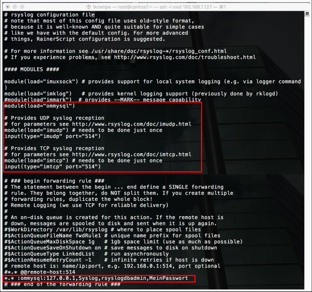 Syslog Server mit Adiscon LogAnalyzer | Thomas Krampe